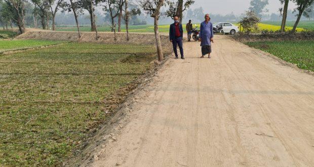 দিনাজপুর বীরগঞ্জ উপজেলায় বিভিন্ন উন্নয়নমূলক প্রকল্পের কাজ এগিয়ে চলছে