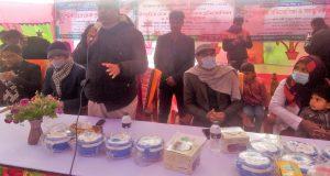 তেতুলিয়ায় প্রতিবন্দ্বী শিক্ষার্থীদের মাঝে উপবৃত্তির চেক প্রদান ও চিত্রাঙ্গন প্রতিযোগিতা