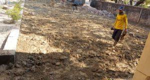 ইনাতগঞ্জ সরকারী প্রাথমিক বিদ্যালয়ে এমপি বরাদ্দে মাটি বরাট কাজ সম্পন্ন