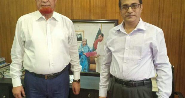 কুমিল্লার গাজী এমদাদ বাংলাদেশ আওয়ামী লীগের উপ কমিটির সদস্য নির্বাচিত