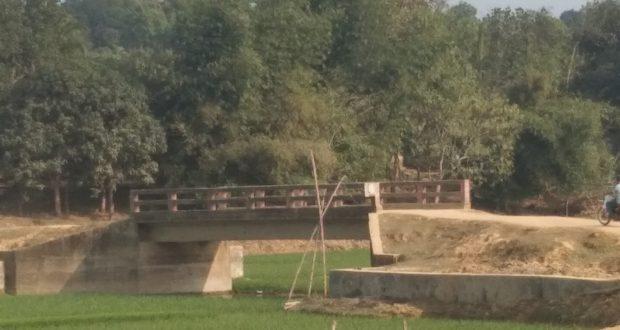 খাগড়াছড়ি'র মহালছড়ি কাটিন টিলা থেকে চোংরাছড়ি যাতায়াত রাস্তা
